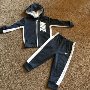 Toddler Nike track suite